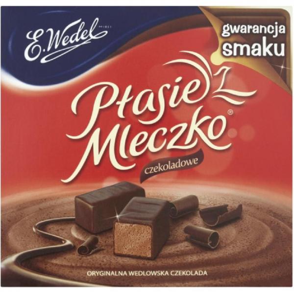 czekoladowe – ptasie mleczko