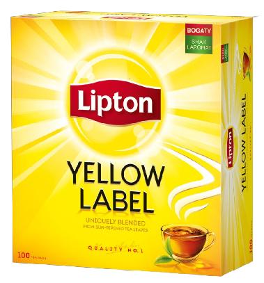 herbata lipton 100 t.